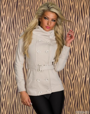 Sweat Jacket - beige 15515-5