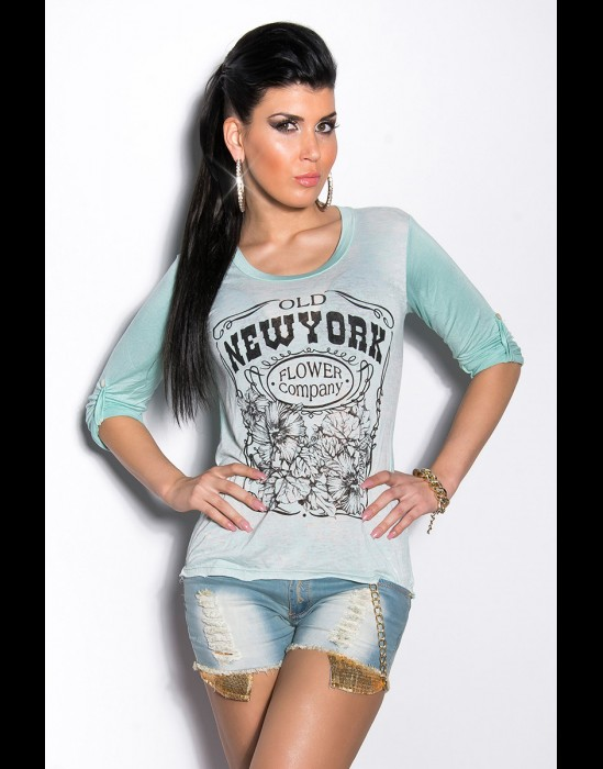 T-shirt - mint 94-T600