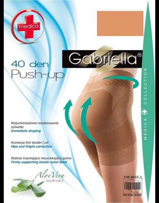 Gabriella Push-Up 40 DEN - beige RGAB-127